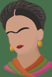 Frida Kahlo clipart