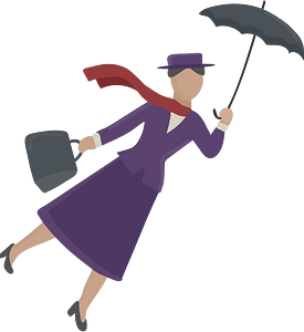Mary Poppins clipart