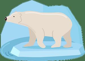 Polar express clipart