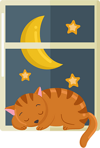 Nap time clipart