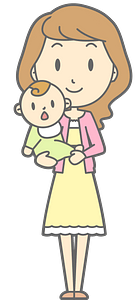 Mother Baby clipart
