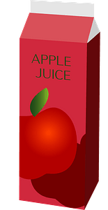 Apple Juice Drink clipart