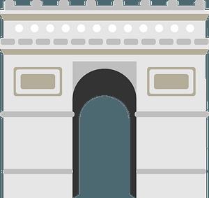 Arc De Triomphe clipart