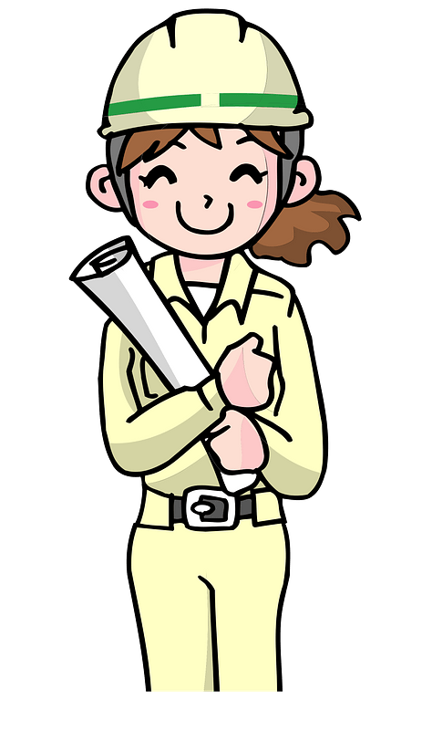 Architect Woman clipart