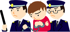 Police are Arresting a Criminal clipart