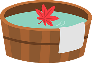 Full Bath Bucket clipart