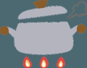 Boiling Pot clipart