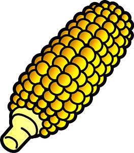 Broiled Sweet Corn clipart
