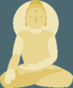 Buddhist Statue clipart