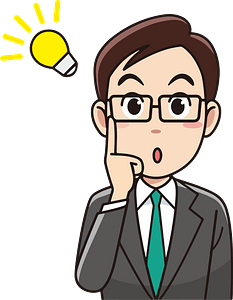 (Dave) Businessman Has a Good Idea clipart