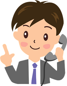 Businessman is Talking on the Phone clipart
