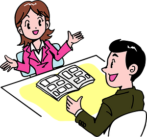 Businesswoman and Businesswoman are Explaining clipart