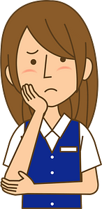 Businesswoman is Thinking clipart