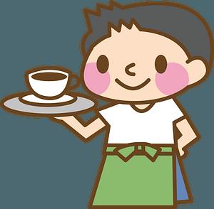 Cafe Waiter clipart