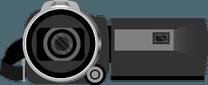 Camcorder Video Camera clipart