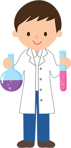 Chemist Experiment clipart