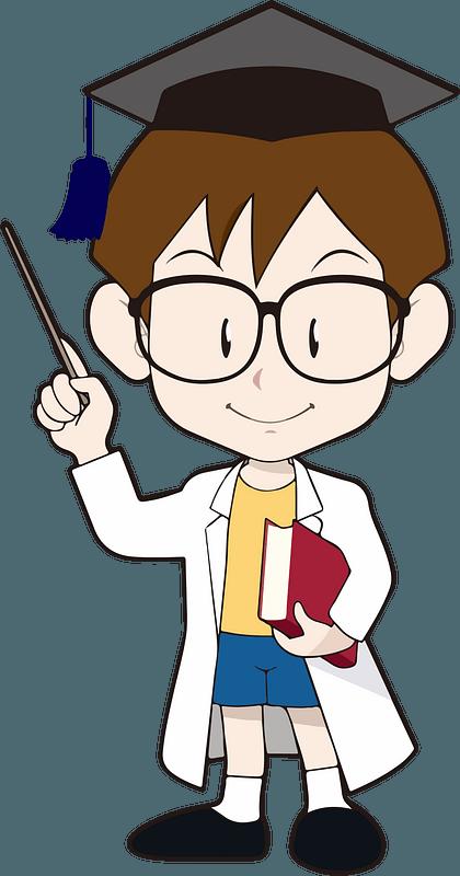 Boy Expert Graduate clipart