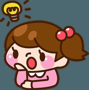 (Sabrina) Girl Has an Idea clipart