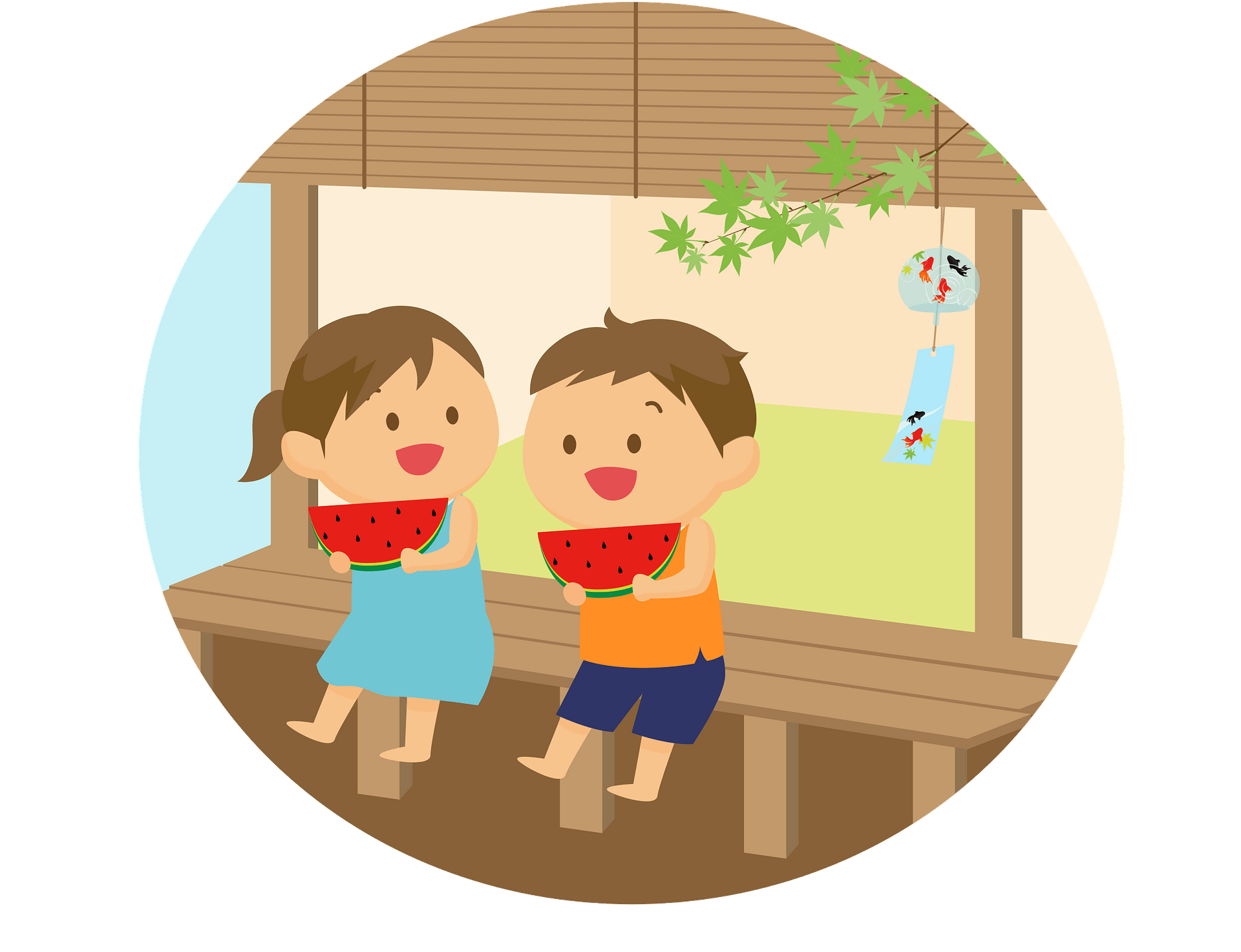 Eating Pal Clipart Of Pair Girls And Boy Food At Picnic - Children Eating  And Drinking Clipart, HD Png Download , Transparent Png Image - PNGitem