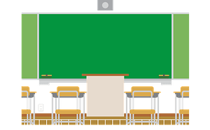 Classroom in a School clipart