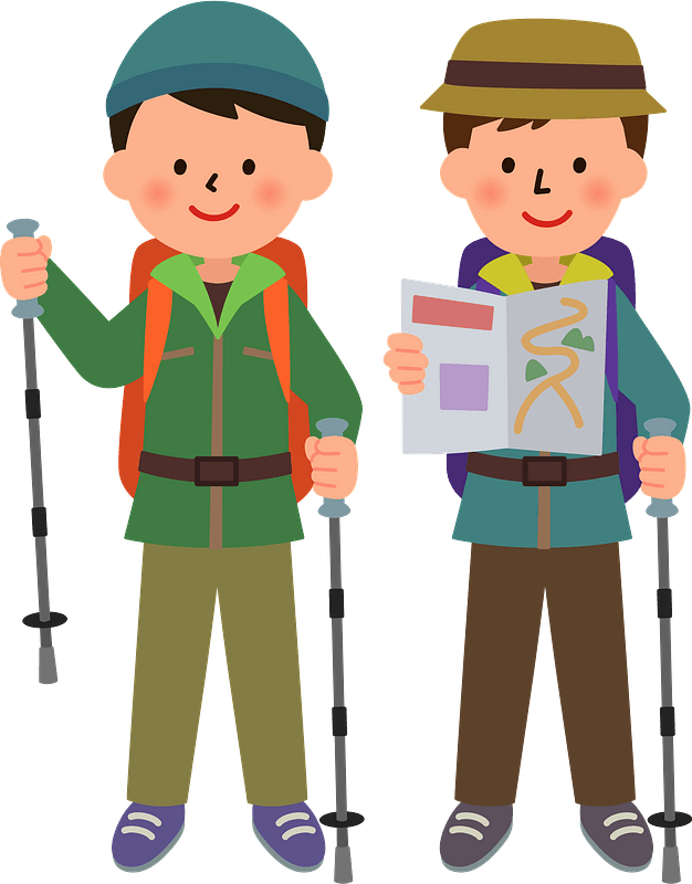 Man Hiking Up Hill Royalty Free Vector Clip Art Illustration - Hiking  Cartoon Png - Free Transparent PNG Clipart Images Download