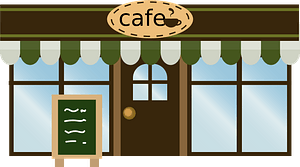 Coffeehouse Cafe clipart