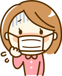 (Annette) Woman is Sick with Influenza clipart