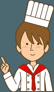 Cook Man clipart