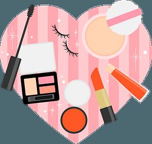 Cosmetics Heart clipart