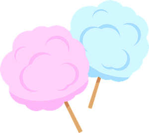 Cotton Candy Sweet clipart