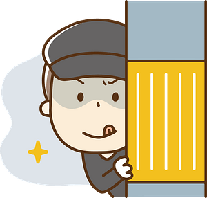 Criminal Thief clipart