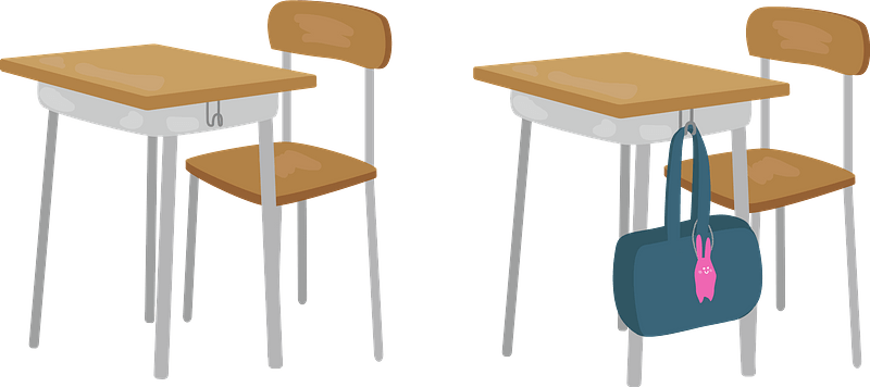 White Classroom Chair Clip Art At Clker Com Vector - Office Chair - Free  Transparent PNG Clipart Images Download