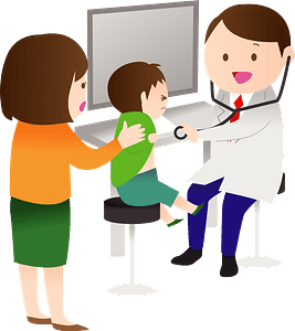 Doctor and Patient clipart
