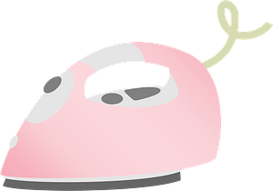 Electric Steam Iron clipart
