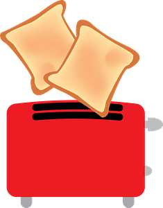 Electric Toaster clipart