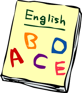 English Textbook clipart