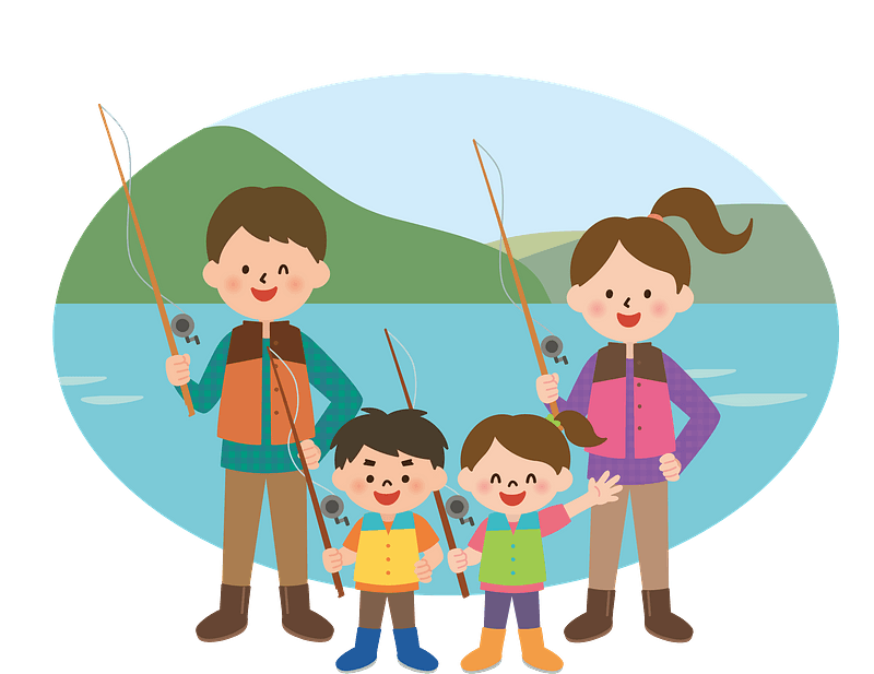 Angling Recreation Cartoon Child Illustration - Kids Fishing Png - Free  Transparent PNG Clipart Images Download