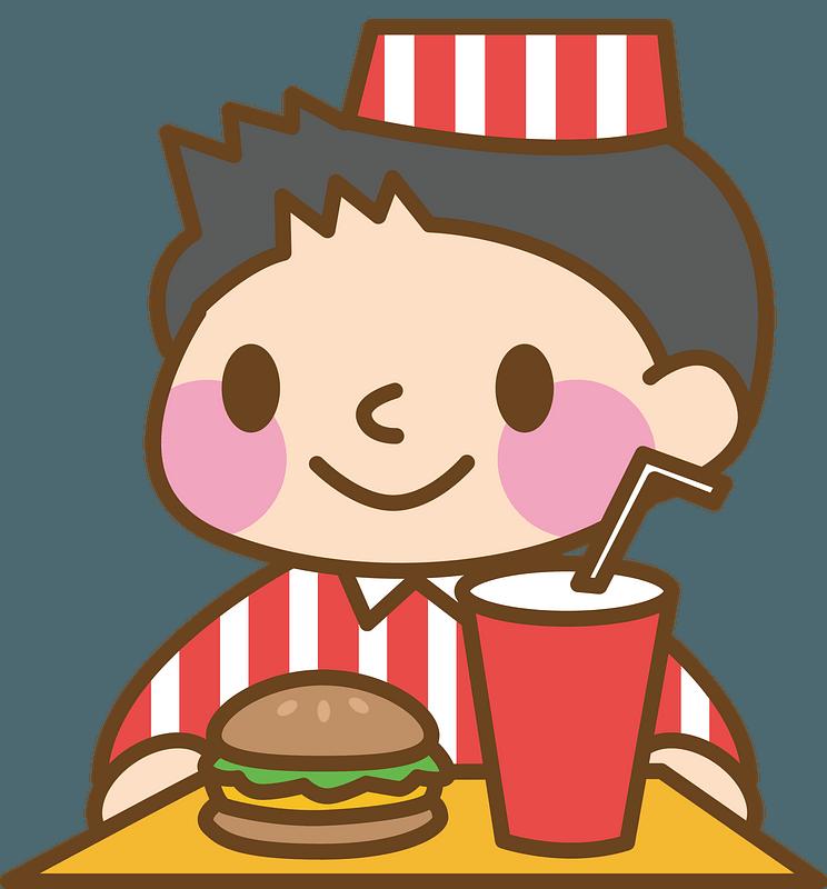 Fast Food Restaurant Staff clipart. Free download ...