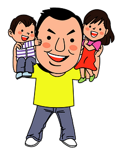Family - Father, Mother, and Son clipart