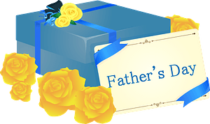 Father's Day Card Gift clipart