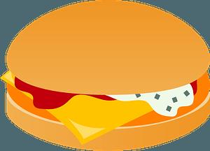 Fish Burger clipart