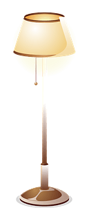 Floor Lamp clipart