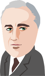 Franklin Delano Roosevelt clipart