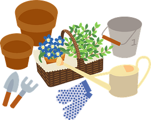 Gardening Supplies clipart