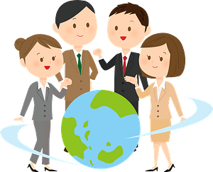 Persons in Global Business clipart