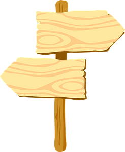 Guidepost clipart