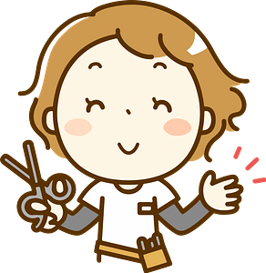 (Lydia) Hairdresser Woman clipart