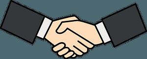 Handshake Business Hands clipart