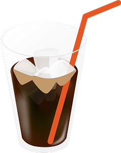 Iced Coffee clipart