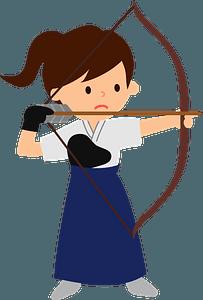 Japanese Archery clipart